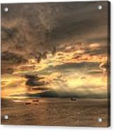 On Golden Bay Acrylic Print