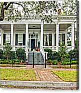 On Guard In New Orleans Acrylic Print