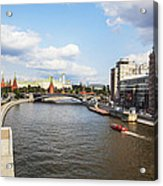 On Moscow River - Russia Acrylic Print