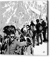 On Mount Blanc Acrylic Print