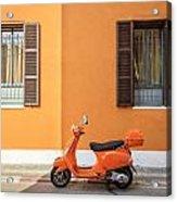 On Orange Street Acrylic Print
