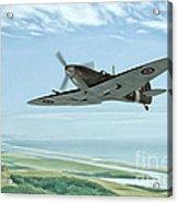 Spitfire On Patrol Acrylic Print