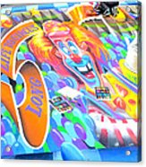 On Pineapple Street Acrylic Print