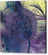 On Psychic Energy Acrylic Print
