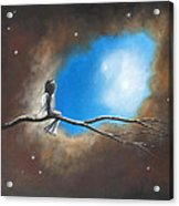 On Silent Wings By Shawna Erback Acrylic Print by Shawna Erback