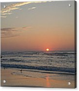 On The Beach At Sunrise - Wildwood New Jersey Acrylic Print