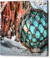 On The Beach Acrylic Print by JC Findley