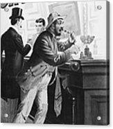 On The Bowery, 1894 Acrylic Print
