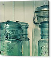 On The Cupboard Shelf Acrylic Print