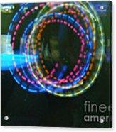 On The Dance Floor 10 Loops Acrylic Print