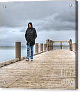 On The Dock Acrylic Print