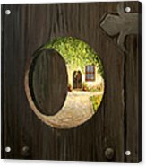 On The Doorstep Acrylic Print by Kiril Stanchev