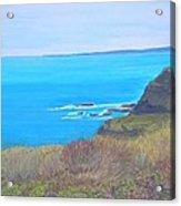 On The Dunes Perranporth Acrylic Print