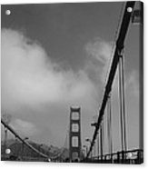 On The Golden Gate Bridge  Acrylic Print