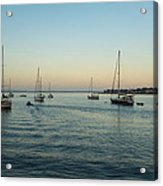 On The Hook In Saint Augustine Acrylic Print