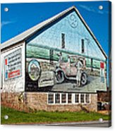 On The Lincoln Highway Acrylic Print