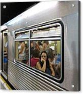 On The Metro - Sao Paulo Acrylic Print