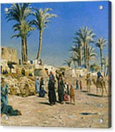 On The Outskirts Of Cairo Acrylic Print