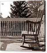 On The Porch Acrylic Print