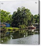On The River In Baldwin County Alabama Acrylic Print