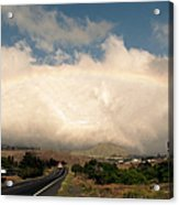 On The Road To Hilo Acrylic Print