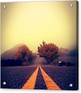 On The Road To Nowhere Acrylic Print