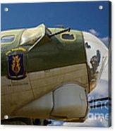 On The Tarmac B-17g Acrylic Print