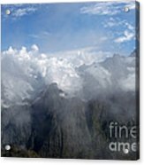 On The Top Of The World... Acrylic Print