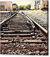 On The Tracks Acrylic Print