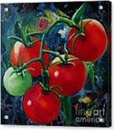 On The Vine II Acrylic Print by Lorraine Fenlon