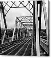 On The Washingtons Crossing Bridge Acrylic Print