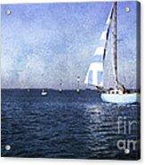 On The Water 3 - Venice Acrylic Print
