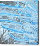 On The Wings Of A Winter Wind Acrylic Print