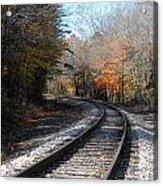 On Track Acrylic Print