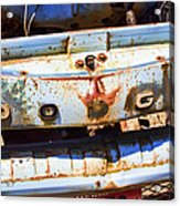 Once A Dodge Acrylic Print
