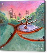 Once Around The Park Acrylic Print
