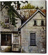 Once Lived In Acrylic Print