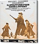 Once Upon A Time In The West, Aka Il Acrylic Print