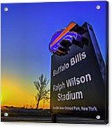 One Bills Drive Acrylic Print
