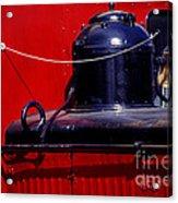 One Brass Bell Acrylic Print