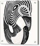 One Clean Print - Greyscale  Acrylic Print