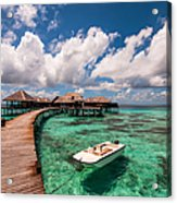 One Day At Heaven Acrylic Print