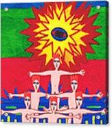 One Eye For Everyone.mexico Acrylic Print
