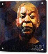 One Eye In The Mirror Acrylic Print by RC deWinter