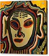 One Eyed Mystery Women Acrylic Print