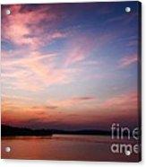 One Fine Sunset Acrylic Print