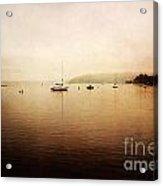 One Foggy Morning Acrylic Print