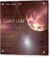 One Giant Leap Acrylic Print