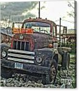 One Headlight International Acrylic Print