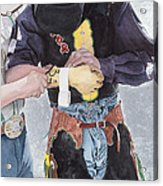One Last Detail Acrylic Print by JK Dooley